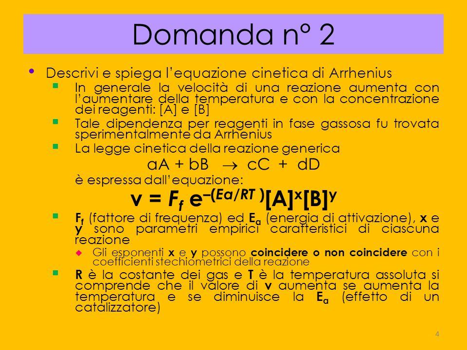 v = Ff e–(Ea/RT )[A]x[B]y